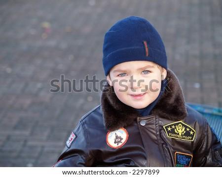 boy look - stock photo