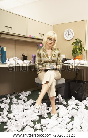 Brainstorming at the Office - stock photo