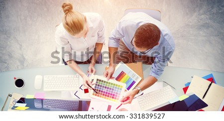 Brainstorming Planning Partnership Strategy Adminstration Concept - stock photo