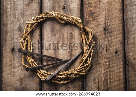 Branch, calvary, catholic. - stock photo