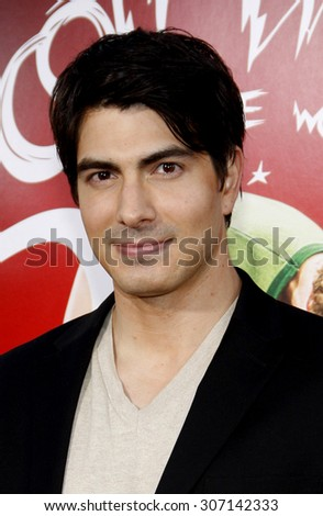 Brandon Routh at the Los Angeles premiere of 'Scott Pilgrim vs. The World' held at the Grauman's Chinese Theater in Hollywood, USA on July 27, 2010. - stock photo