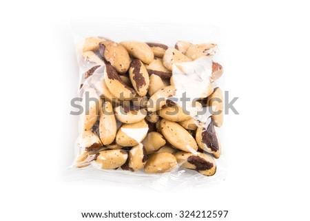 Brazil nut - stock photo
