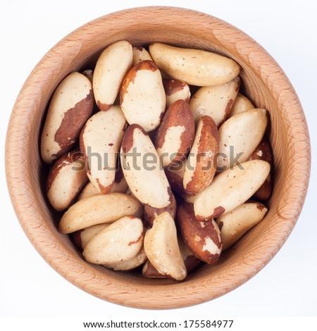 Brazil nuts - stock photo