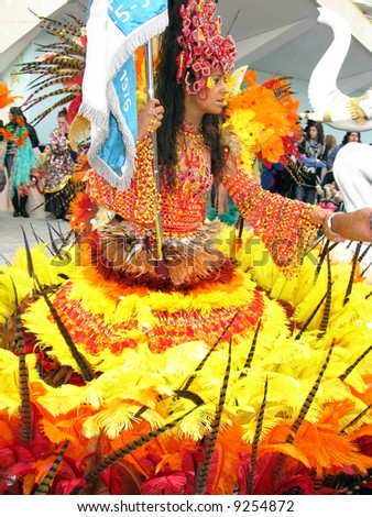 Brazilian Carnival - stock photo