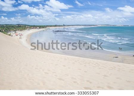Brazilian coast, near of the city of Natal - RN - Brazil - stock photo