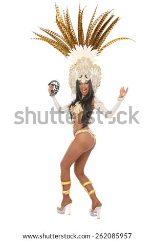 Brazilian Dancer - stock photo
