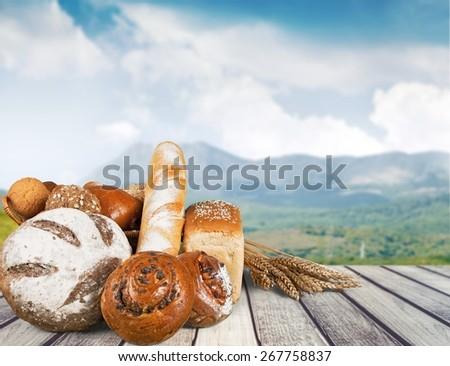 Bread. Bread - stock photo