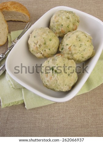 Bread dumplings - stock photo