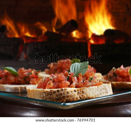 bread oven - stock photo