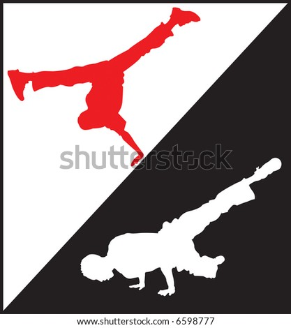 Break Dance - stock photo