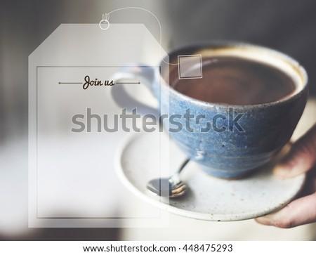 Break Tea Coffee Time Relax Concept - stock photo