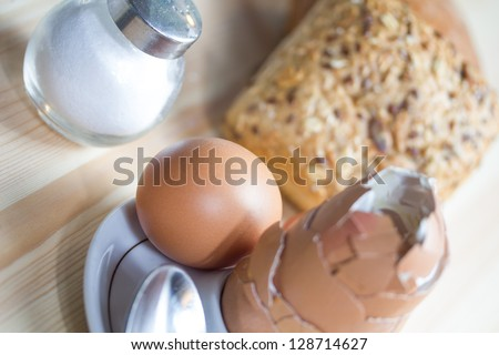 breakfast eggs - stock photo
