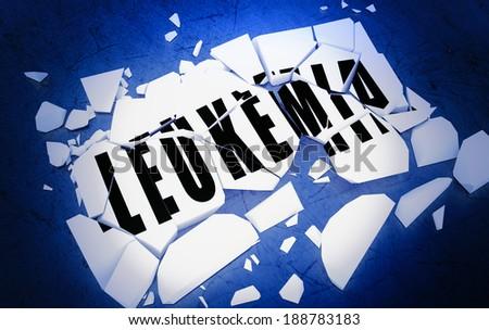 Breaking Leukemia - stock photo