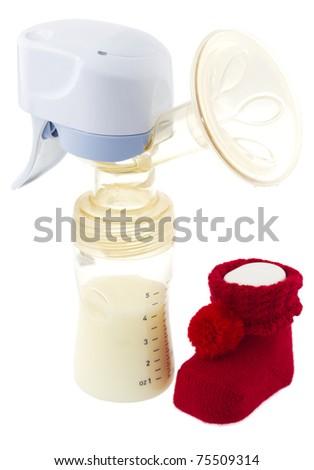 Breast pump - stock photo