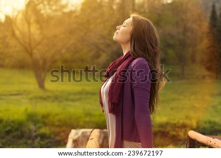 Breath of Fresh Air - stock photo