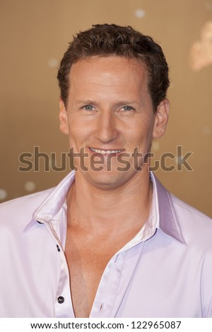 Brendon Cole arriving for the Strictly Come Dancing 2012 Launch, Television Centre, London. 11/09/2012 Picture by: Simon Burchell - stock photo