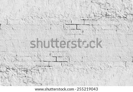 brick cement wall texture - stock photo