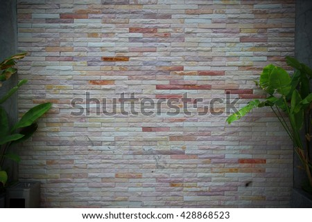 brick wall backgrounds, brick wall texture - use for display product. - stock photo