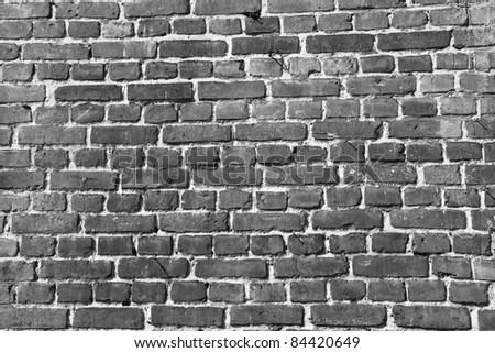 Brick wall in close up - a background - stock photo