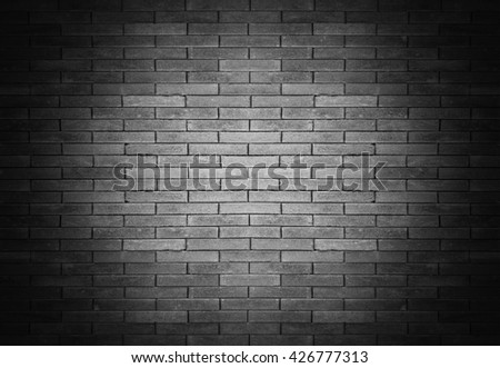 Brick wall in landscape architecture for design texture pattern and background Color Filter - stock photo