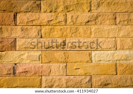 Brick wall texture and pattern - stock photo