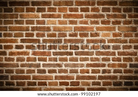 Brick wall texture or background - stock photo