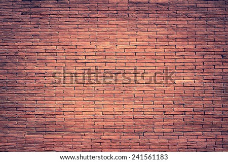 brick wall texture - pattern exterior concrete construction - stock photo