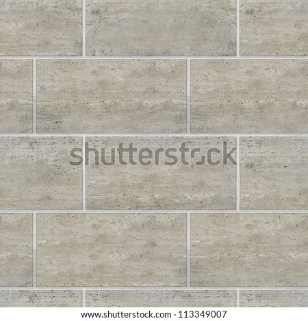 Brick Wall Tile - High quality Texture - stock photo