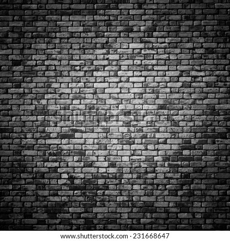 Bricked Wall Texture - stock photo