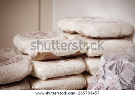 Bricks of drugs - stock photo