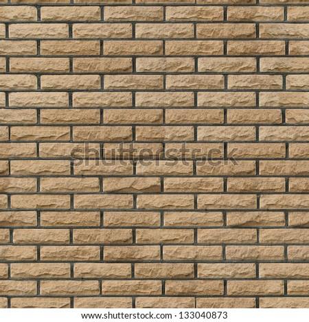Bricks 03 seamless - stock photo