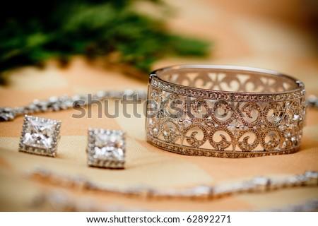 Bride's accessory - stock photo