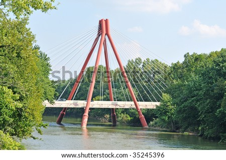 bridge - stock photo