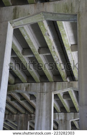 bridge support 1 - stock photo