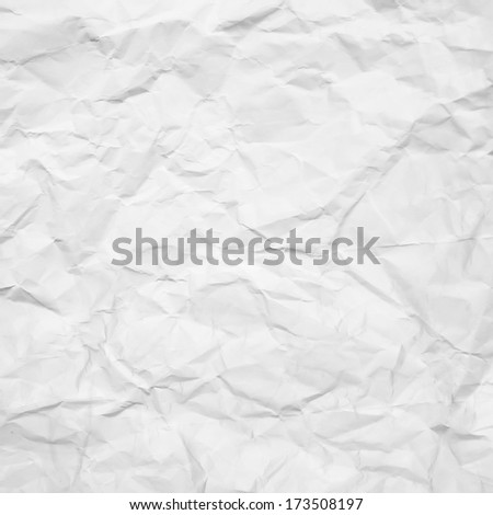 bright background creased paper texture - stock photo