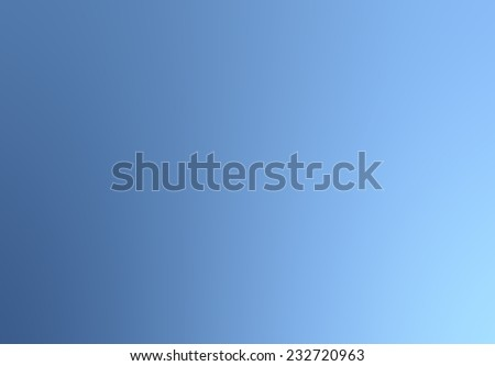 Bright Blue Abstract Smooth colorful textured background with special blur effect for wallpaper, poster, frame, backdrop, design.  - stock photo