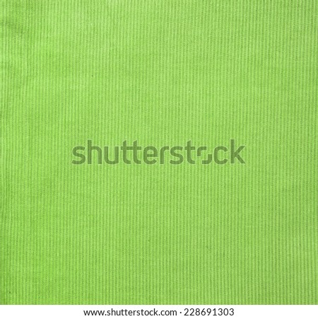 Bright colored corduroy cotton velvet background with vertical stripes and ribbed texture. Swatch or backdrop for fashion design, identity or scrapbooking - stock photo