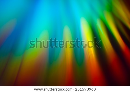 Bright colorful abstract in the form of beams that change color.The full range of colors - stock photo