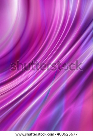 Bright curved wavy background with pink, blue and purple hues - stock photo