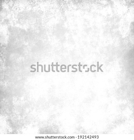 bright gray background with abstract highlight corner and vintage grunge background texture - stock photo