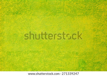 Bright green-yellow textured background - stock photo