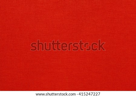 Bright red textile texture. Red background. - stock photo