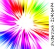 bright spectrum pattern - stock photo