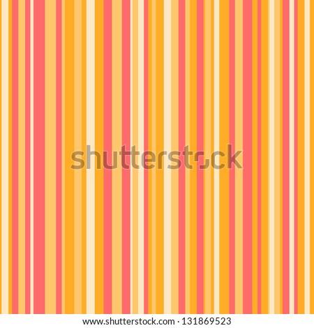 Bright Striped Pattern - stock photo