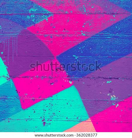 Bright wood background. Minimal style - stock photo