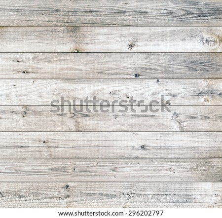 Bright wood planks surface background - stock photo