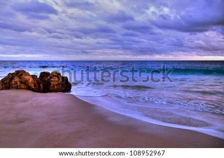 Brighton Beach Perth Western Australia - stock photo