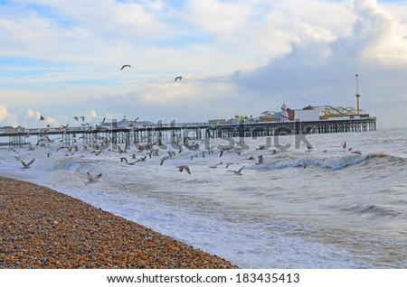 Brighton, UK - stock photo