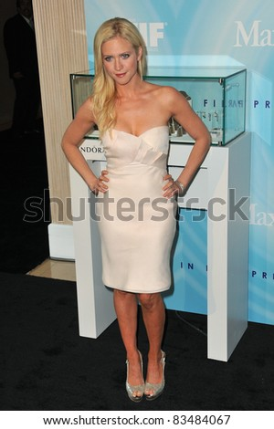Brittany Snow at the Women in Film 2011 Crystal + Lucy Awards at the Beverly Hilton Hotel. June 16, 2011  Beverly Hills, CA Picture: Paul Smith / Featureflash - stock photo