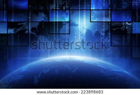 Broadcasting - stock photo